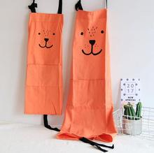 1pcs Cute Working Apron With Pocket Home Kitchen Baking Painting Apron Children Adult Cooking Apron rainbow unicorn waterproof cooking baking apron
