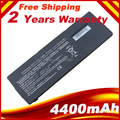 6 cells 4400mAh battery  for SONY VAIO VPCSE Series laptops VGP-BPL24 VGP-BPS24 VGP-BPSC24 battery ,free shipping
