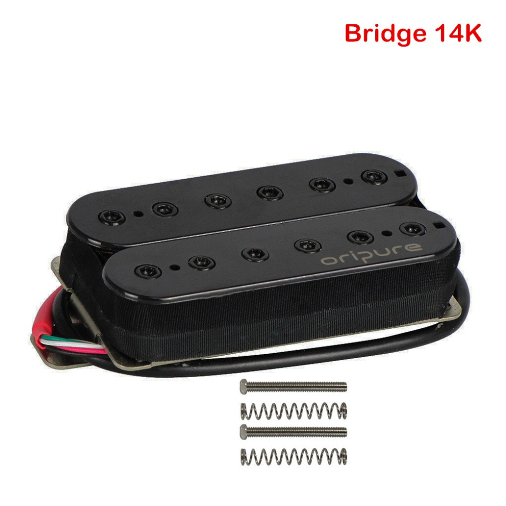 buy oripure alnico 5 humbucker double coil electric guitar pickup bridge 14k. Black Bedroom Furniture Sets. Home Design Ideas