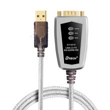 Nueva industrial USB 2.0 a serial RS485 RS422 convertidor cable adaptador 600 W protección contra sobretensiones buena calidad para PC