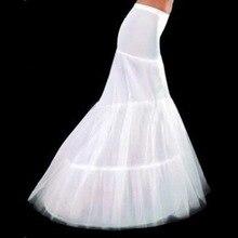 Юбке последние складе русалка свадебное элегантный под юбка свадебные белый аксессуары