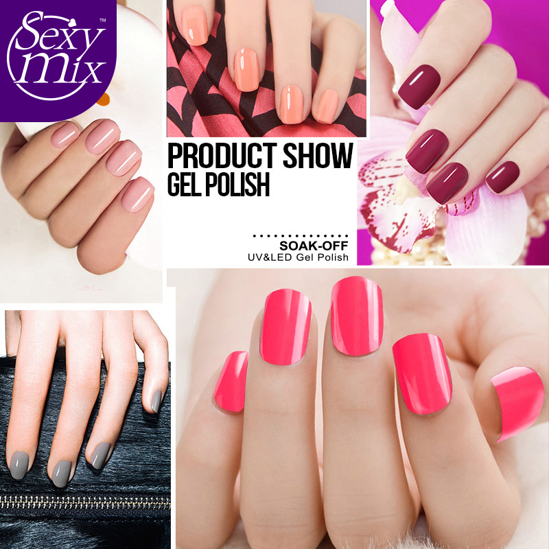 Sexy mix Diamond Nail Gel Top Coat Top it off + Base Coat Foundation for UV Gel Polish Best selling 7ml