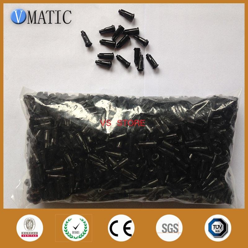 free shipping 1000pcs of american glue dispensing syringe tip cap 100x 10ml syringe of 44