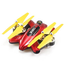 X20 Mini Drones With Camera HD 2MP Headless RC Helicopter Altitude Hold Quadcopters Foldable Selfie Micro Drone Professional