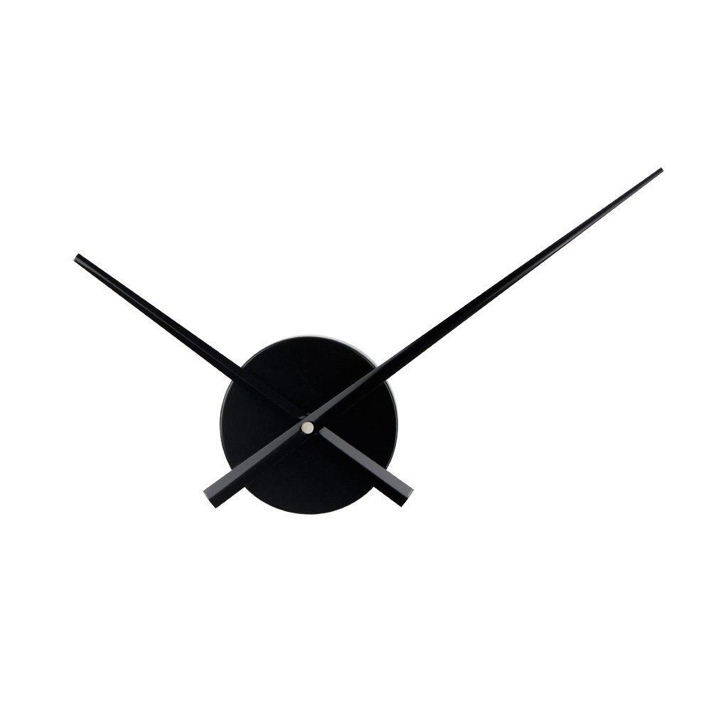 Promoción Reloj De pared accesorios DIY reloj De cuarzo mecanismo De Metal agujas Reloj De pared 3D Reloj De pared decoración del hogar Reloj De pared