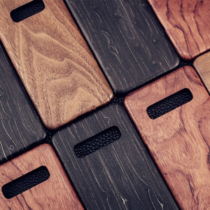 Image 1 - For Samsung Galaxy S10 /S10+/S10e S20/S20+/S20 Ultra walnut Enony Wood Rosewood vintage MAHOGANY Wooden Back Slim Case Cover