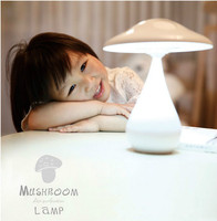 2016 New USB LED Rechargeable Mushroom Lamp Air Purifier Adjustable Touch Dimmer Night Light For