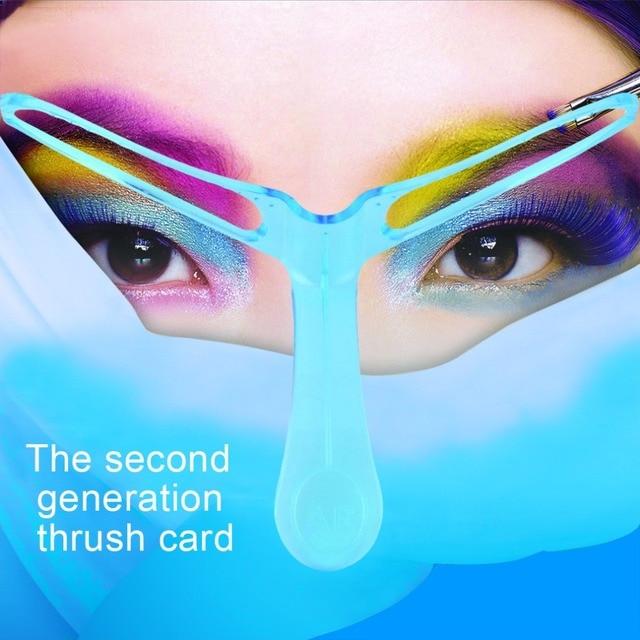 Eyebrow Template Stencil Grooming Shaping Helper DIY Makeup Tool Beauty Make up Kit Reusable Eyebrow Drawing Guide Template 1