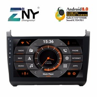 10.1 IPS Android 8.0 Car Radio 2 Din Multimedia GPS For VW POLO 2012 2018 Audio Video FM RDS WIFI Bluetooth Navi Stereo 4+32GB