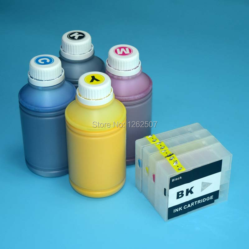 For canon PGI2500 refill ink cartridge and 500ml pigment ink for Canon pgi 2500 cartridge for canon MB4050 MB5050 MB5350 printer купить