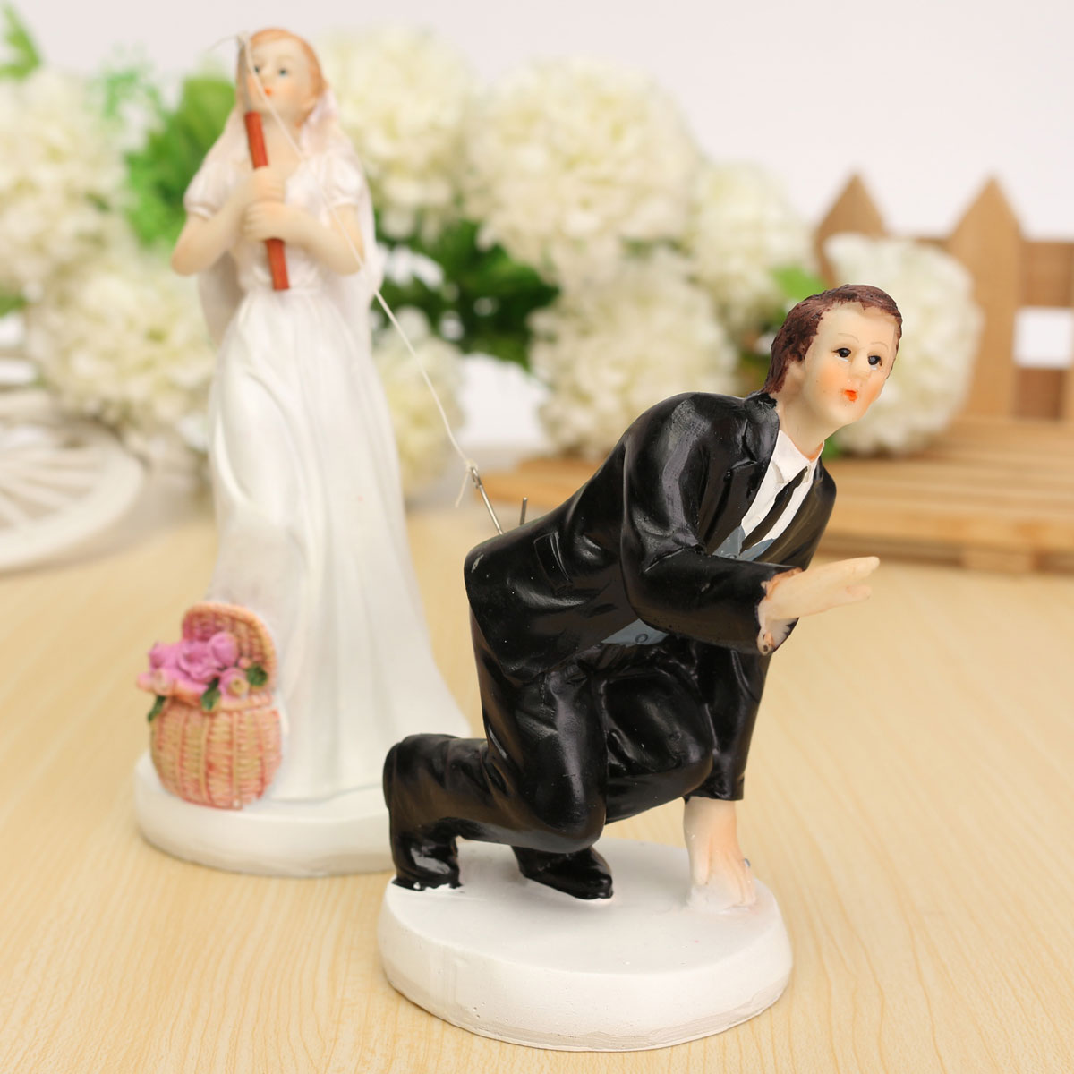 line Get Cheap Fishing Wedding Cake Toppers Aliexpress