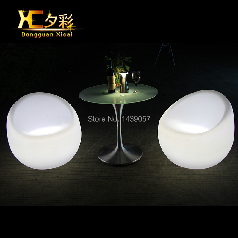 Plastic Led Bar Stool Color Changing Club Wine Chair Living Room Party Ceremony Stools led luminous bar stool cocktail table color changing wine drinking desk furniture set for club ceremony anniversary party