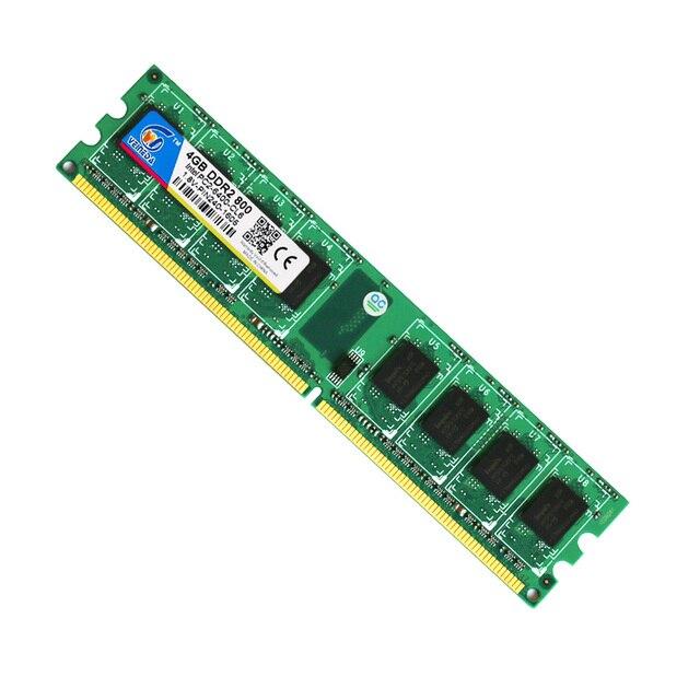 Новая оперативная память ddr2, 4 Гб, 800 МГц, для рабочего стола, совместимая память, оперативная память ddr2, 667 МГц, Dimm, 240 контактов 3