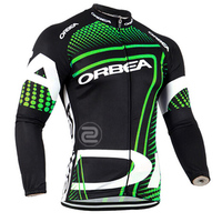2015 Orbea Bicycle Mtb Winter Thermal Fleece Cycling Jersey Only Long Sleeve Winter Cycling Clothing Ropa