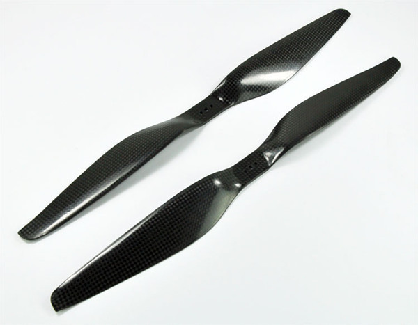 1 Pair of Black 1555 15x5.5 Tarot Carbon Fiber T Type Prop CW/CCW Propeller For Quadcopter T Motor Paddle купить