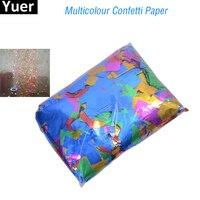 Confetti Machine 1kg/lot Rectangle Shape Golden / Silvery confetti paper for confetti cannon machine & Confetti Machine