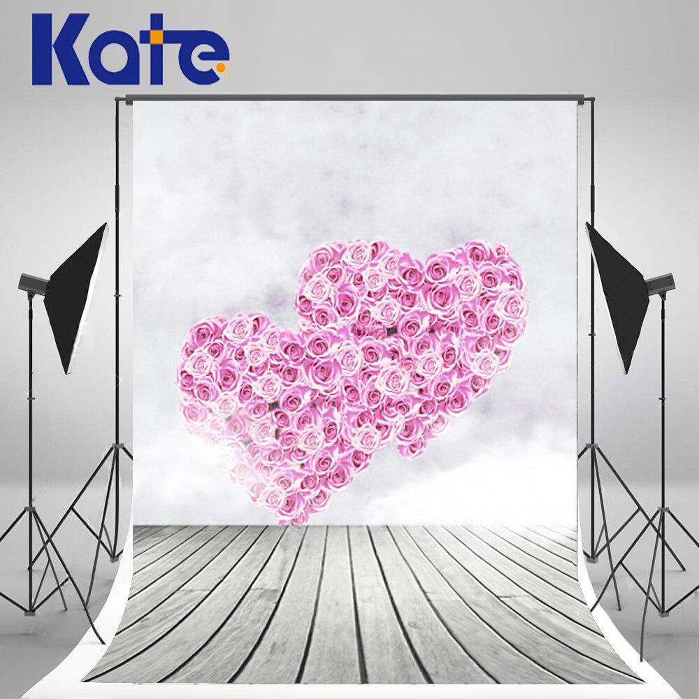 5Feet*6.5Feet Background Rose Heart Love Photography Backdrops thick Cloth Photography Backdrop 3208 Lk  Valentine'S Day 8x10ft valentine s day photography pink love heart shape adult portrait backdrop d 7324