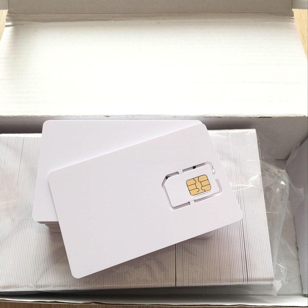 Intelligent Progarmmable Blank LTE USIM 4G Card WCDMA GSM Blank Mini Nano Micro 2FF 3FF 4FF SIM Writable For Telecom Operator