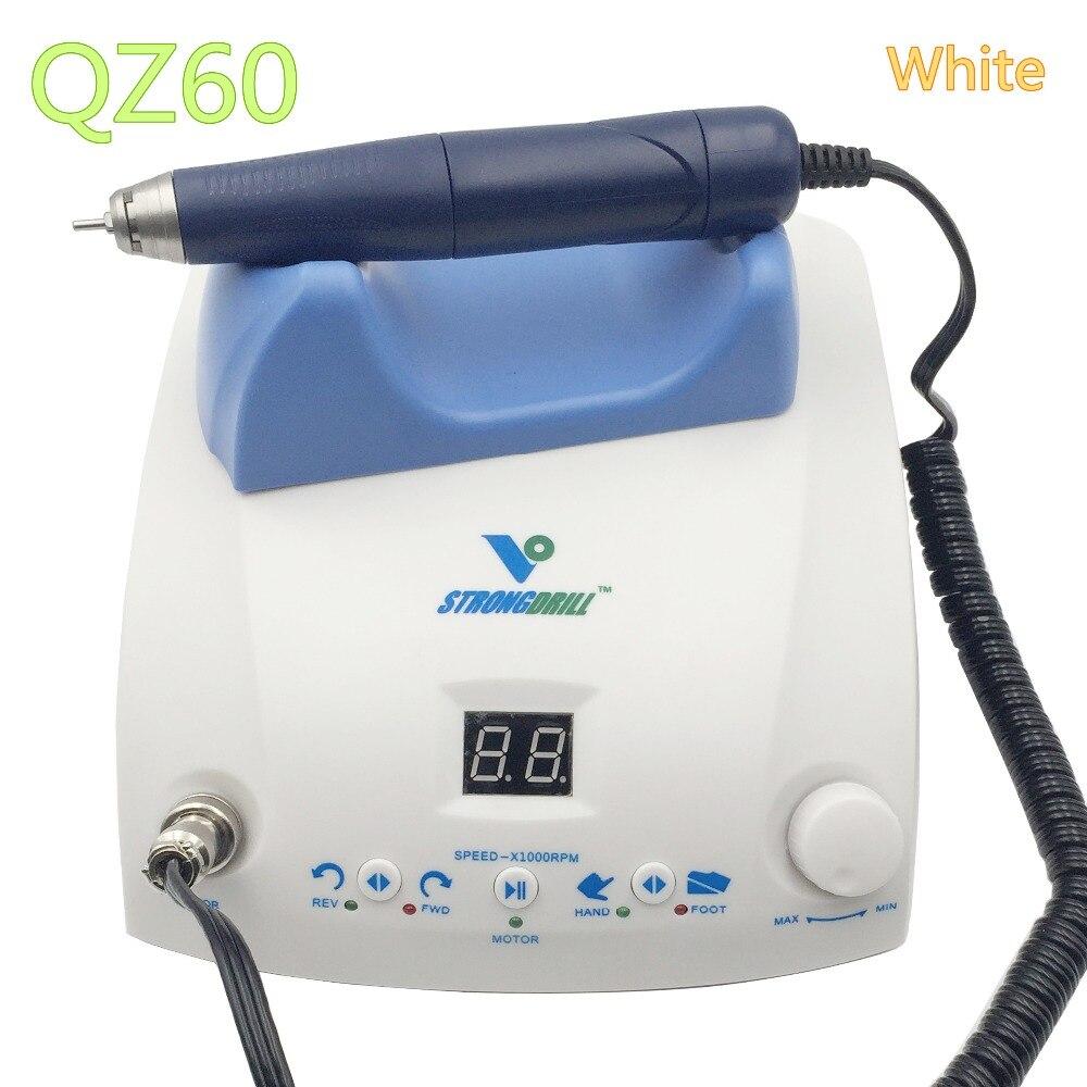 Livraison gratuite via dhl 50,000 rpm dental lab micromoteur brushless vitesse de bijoux par pied pédale dentaire laboratoire avec pièce à main
