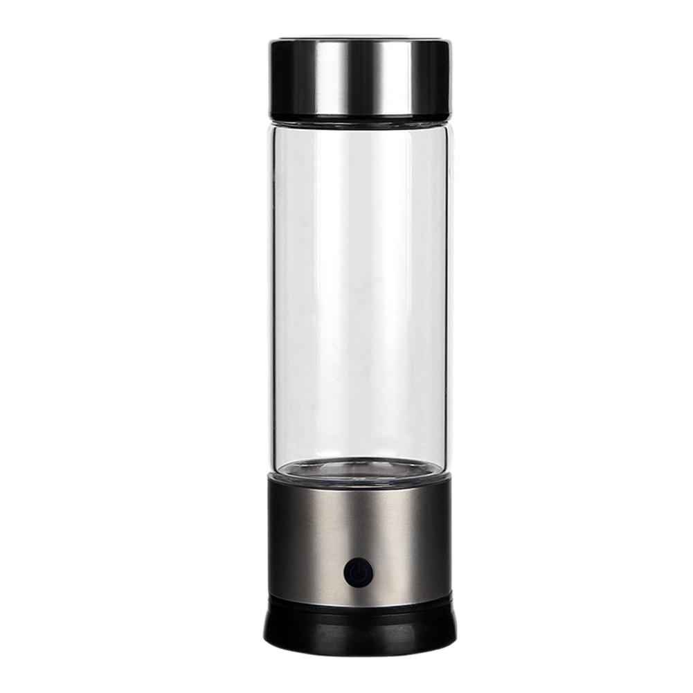 High Concentration Negative Ions Water Ionizer Anti Aging Healthy Smart Bottle Japanese Alkaline Energy Water Bottle Glass water bottle