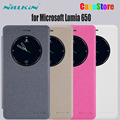 Оригинал Nillkin Для Microsoft Lumia 650 телефон случае Блеск кожа для Microsoft 650 телефон обложка для Lumia 650 защитный чехол