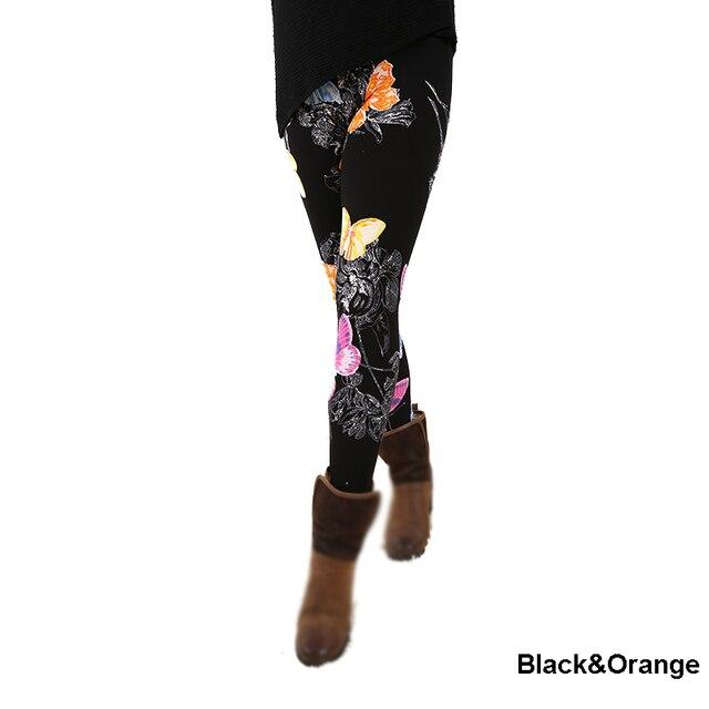A29fashion womens bottoms high elastic pants capris comfortable plus leggings american style popular print free shipping xxxxxl