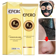 EFREO Blackhead Removal Face Mask Black Head Pore Strip Deep Cleansing Purifying Peel Off Black Mask Face Acne&Coarse Pores 5PCS high quality black head remove shrink pores natural bamboo charcoal mask blackhead purifying peel off black face mask