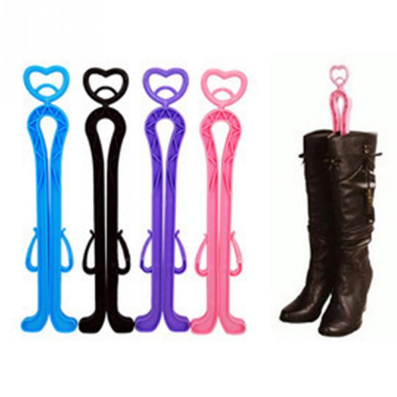 Hot Selling Plastic Long Boots Shaper Supporter Shaft Keeper Holder Organizer Storage Hanger