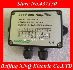 Image 1 - 4 20mA load cell amplifier / load cell transmitter 0 10v / weight transmitter /weighting amplier  0 5v ,load cell transducer