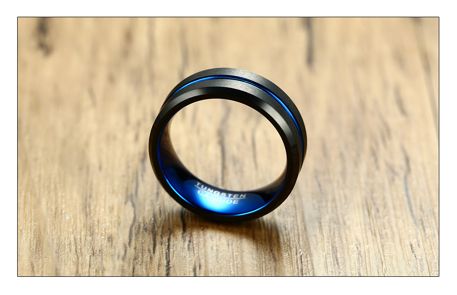 Matte Black Carbide Ring for Men