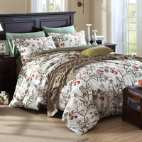 10 Kinds Of Styles Unique American Pastoral Duvet Cover Elegant Retro Vintage Floral Bedroom Set Brand
