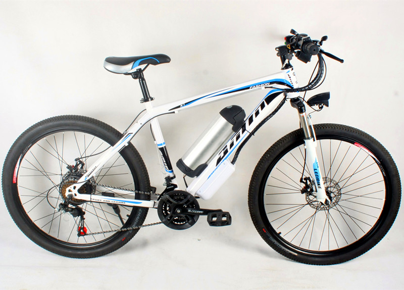 26 inch lithium battery, electric bicycle 21 speed bicycle 26 mountain bike, adult electric bicycle manufacturer wholesale