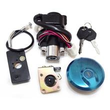 Ignition Switch Gas Cap Seat Lock Key Set for Suzuki GZ125 MARAUDER GZ 125 цена