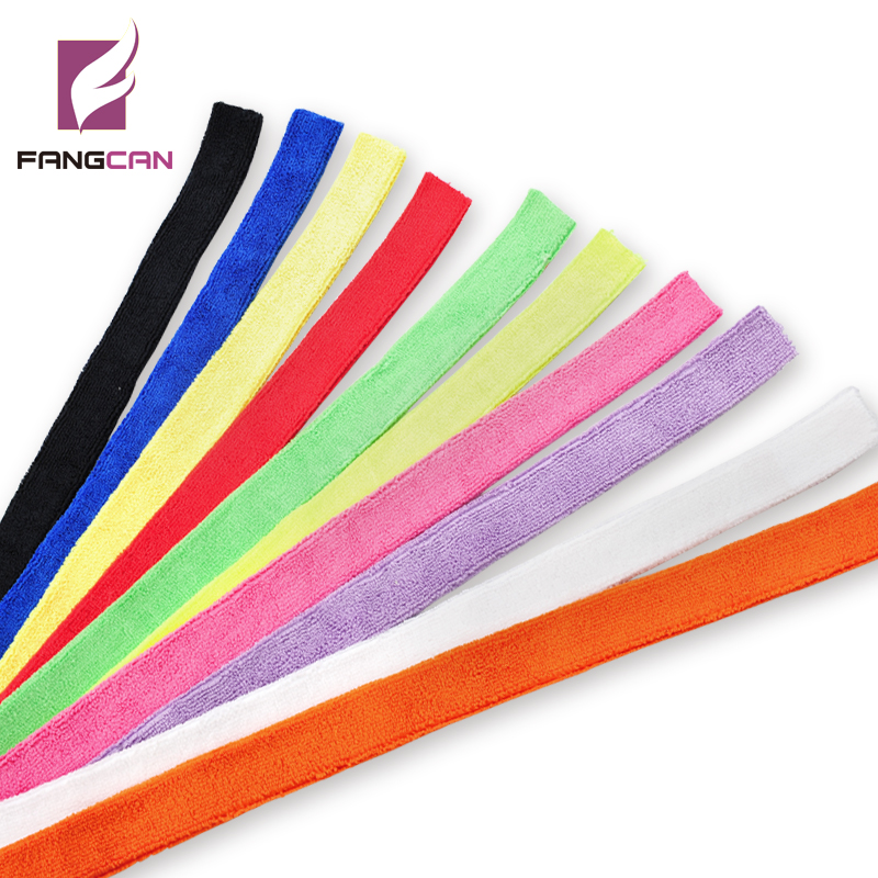 10 pc / lot FANGCAN Super Soft Badminton Squash Tennis Racket Towel Grip Tennis Racquet Grip Sweat Penyerapan Tali Tangan Grip