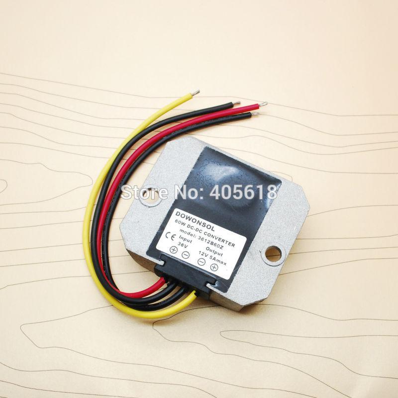 36v-dən 12v dc 5Amax 60Wmax yüksək keyfiyyətli DC DC çeviricisi - İşıqlandırma aksesuarları - Fotoqrafiya 2