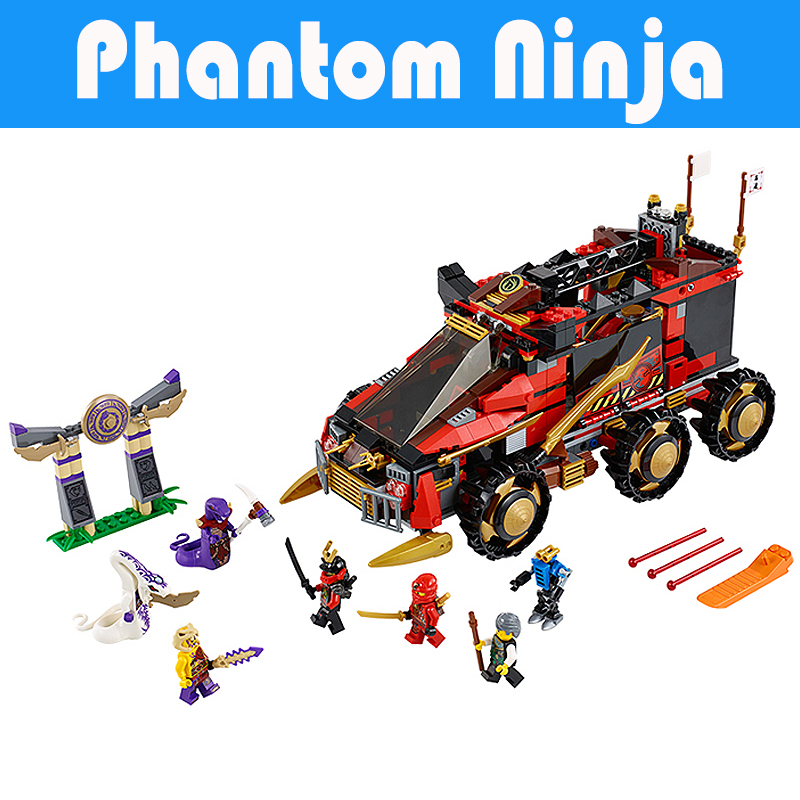 Pogo Gifts 755Pcs 10325 DB X Masters Ofpinjitzu Phantom Ninjagoe Thunder Swordsman Building Blocks Bricks Toys Compatible Legoe pogo compatible legoe bela 10722 ninjagoe movie thunder swordsman building blocks bricks toys