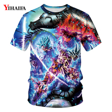 T Shirt Men Space Galaxy Dragon Ball Z T-shirt Goku 3D Print T-shirts Mens Womens Casual Tees Hip Hop Unisex Tops