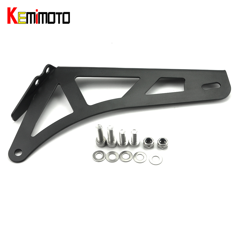 KEMiMOTO For BMW Exhaust Bracket fit for BMW R NINE T 2014 2015 2016 2017 motorbike accessories aftermarket free shipping motorcycle parts eliminator tidy tail for 2006 2007 2008 fz6 fazer 2007 2008b lack