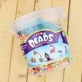 Воды Beadbond Головоломки Хама бисер детские Развивающие Игрушки DIY Перл Спринклерной Волшебные Бобы Воды Бисер MBF115