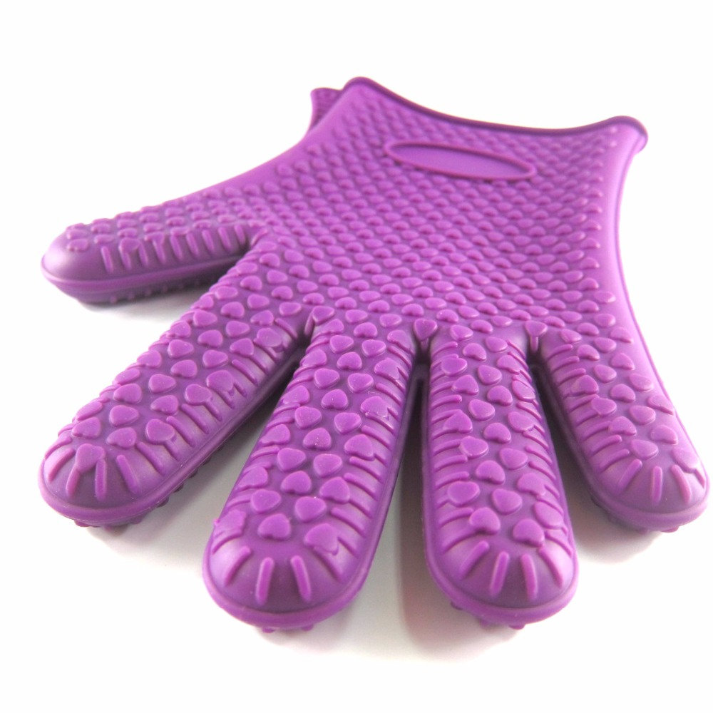 Online kopen wholesale paars oven handschoenen uit china paars ...