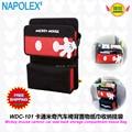 Accesorios del coche de Mickey mouse de la historieta almacenamiento asiento trasero del coche compartimiento de la bolsa tejido WDC-101 envío gratis