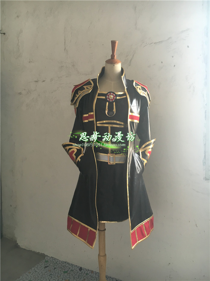 2016 LOL Leona Cosplay Costume Anime Custom Made Uniform