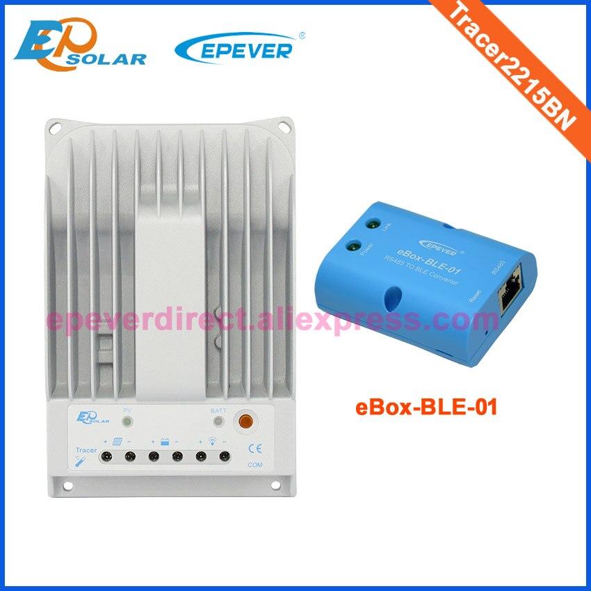 MPPT 20A 20amp Tracer2215BN carga del panel solar con la función de ble para 12 V/24 V auto tipo