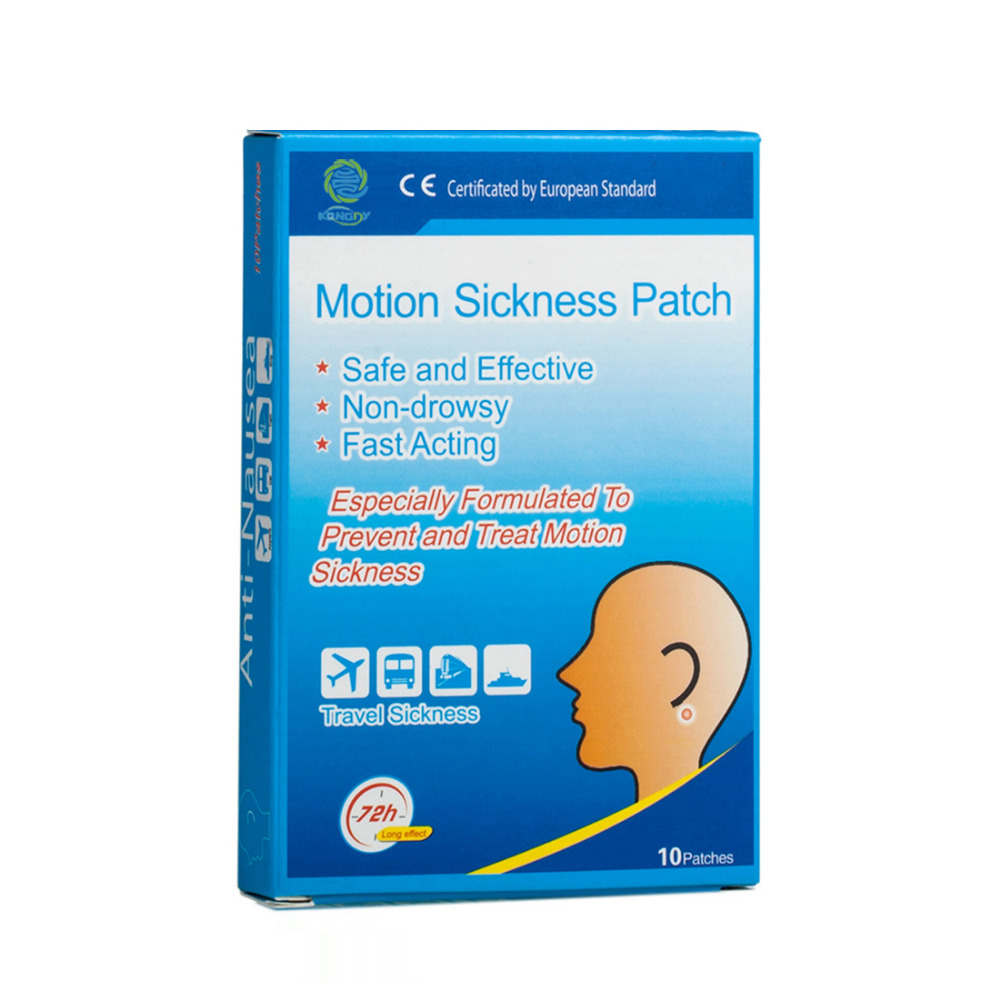 KONGDY® Motion Sickness Patches Anti Nausea Travel Pain Relief Car Sea Air  CE FDA Certified - Deal House Direct