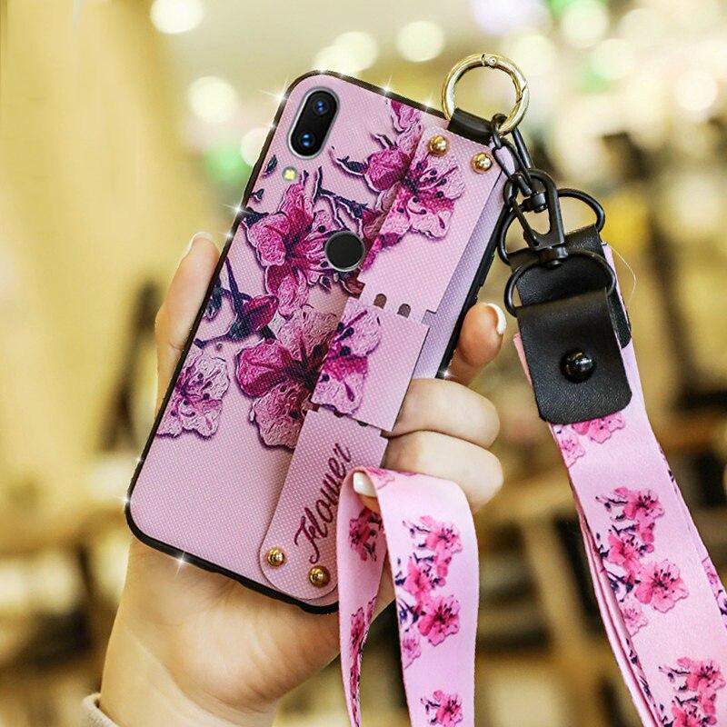 For-OPPO-R17-RX17-Pro-R15X-R15-K1-F1-F3-Plus-F9-Case-Rhinestone-Bling-Flower