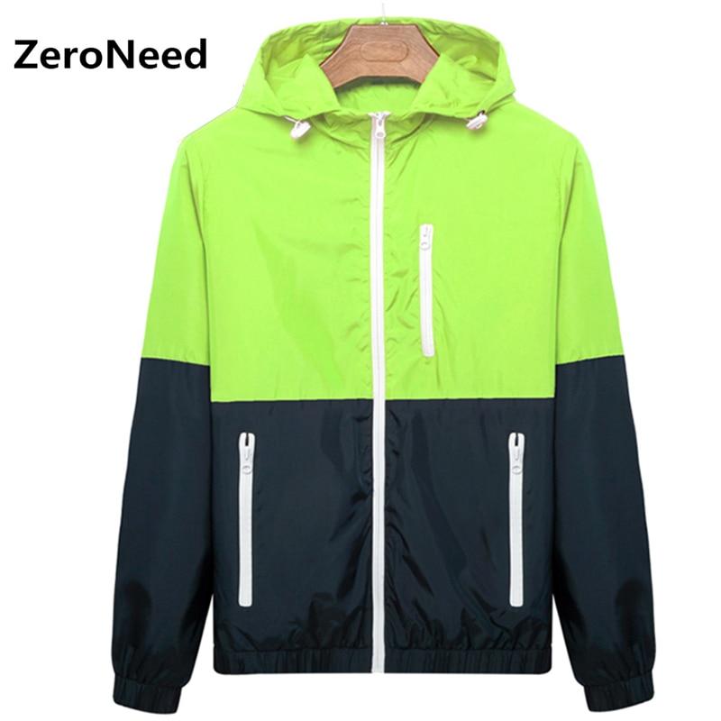 Spring Jacket Men Slim Hooded Sportswear UV Sun Protection Coat Casual Outerwear Summer Jacket Men Baseball Outdoors Jackets 92