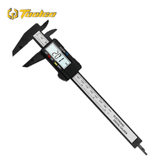 все цены на Toolgo Digital Caliper 100mm 150mm 0.1mm Accuracy LCD Digital l Electronic Carbon Fiber Caliper Gauge Micrometer Measuring Tools онлайн