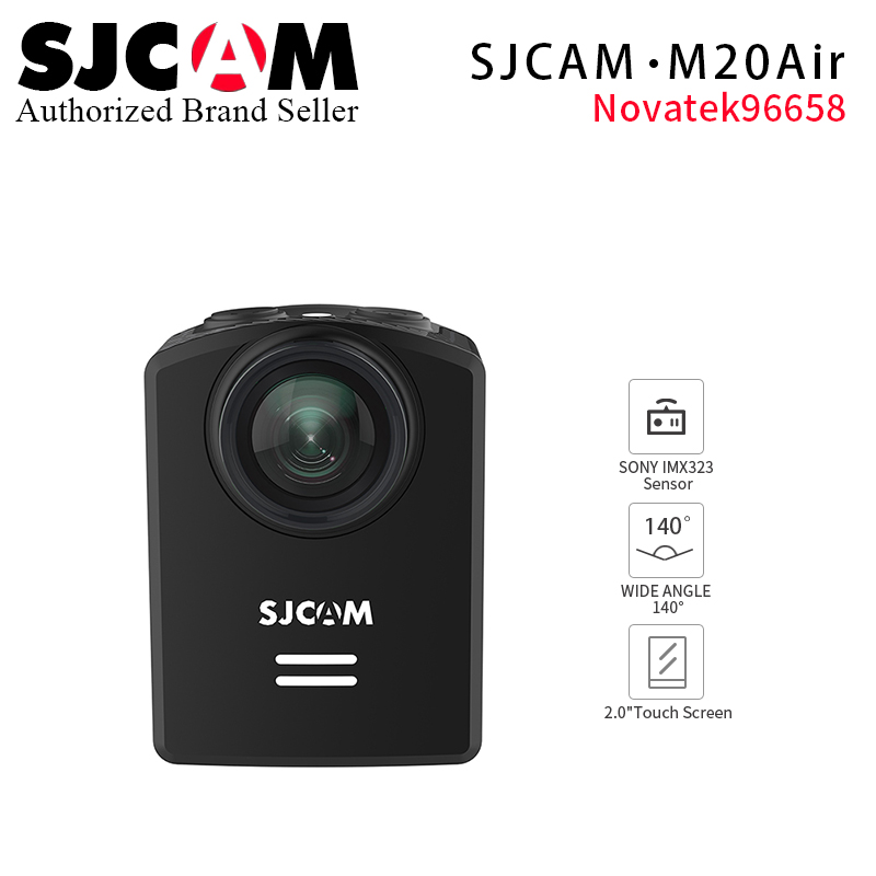 2018 Latest Original SJCAM M20 Air Action Camera Waterproof Sports DV 1080P NTK96658 12MP Mini Helmet Video Camera