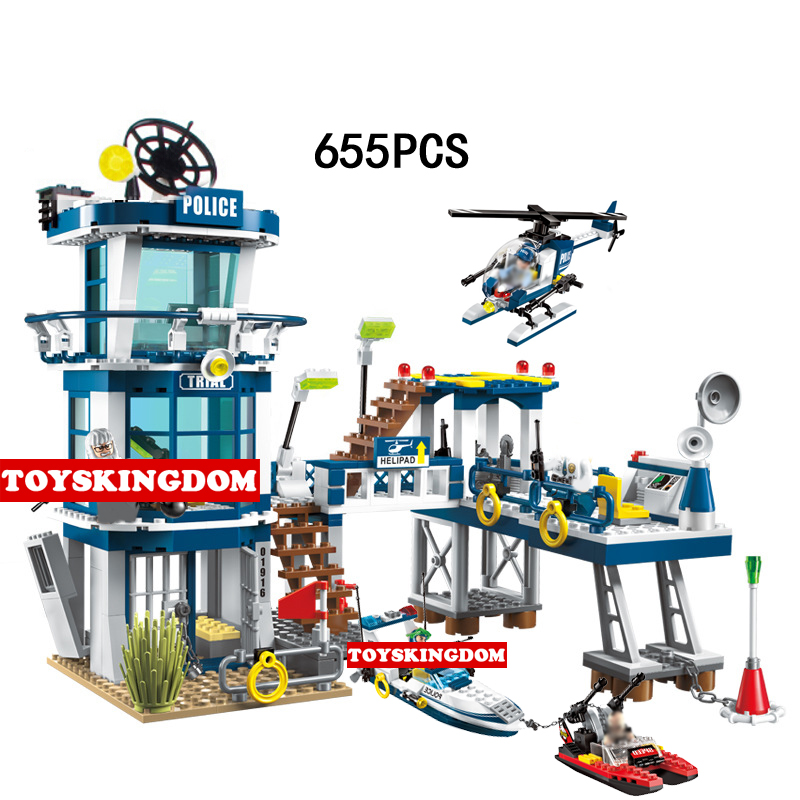City super police Rescue plan break prison building block policeman guards Prisoner figures bricks helicopter speedboat toys compatible lepin city block police dog unit 60045 building bricks bela 10419 policeman toys for children 011