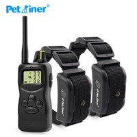 petrainer-900b-2-1000meter-rechargeable-waterproof-dog-training-shock-collar-for-2-dogs